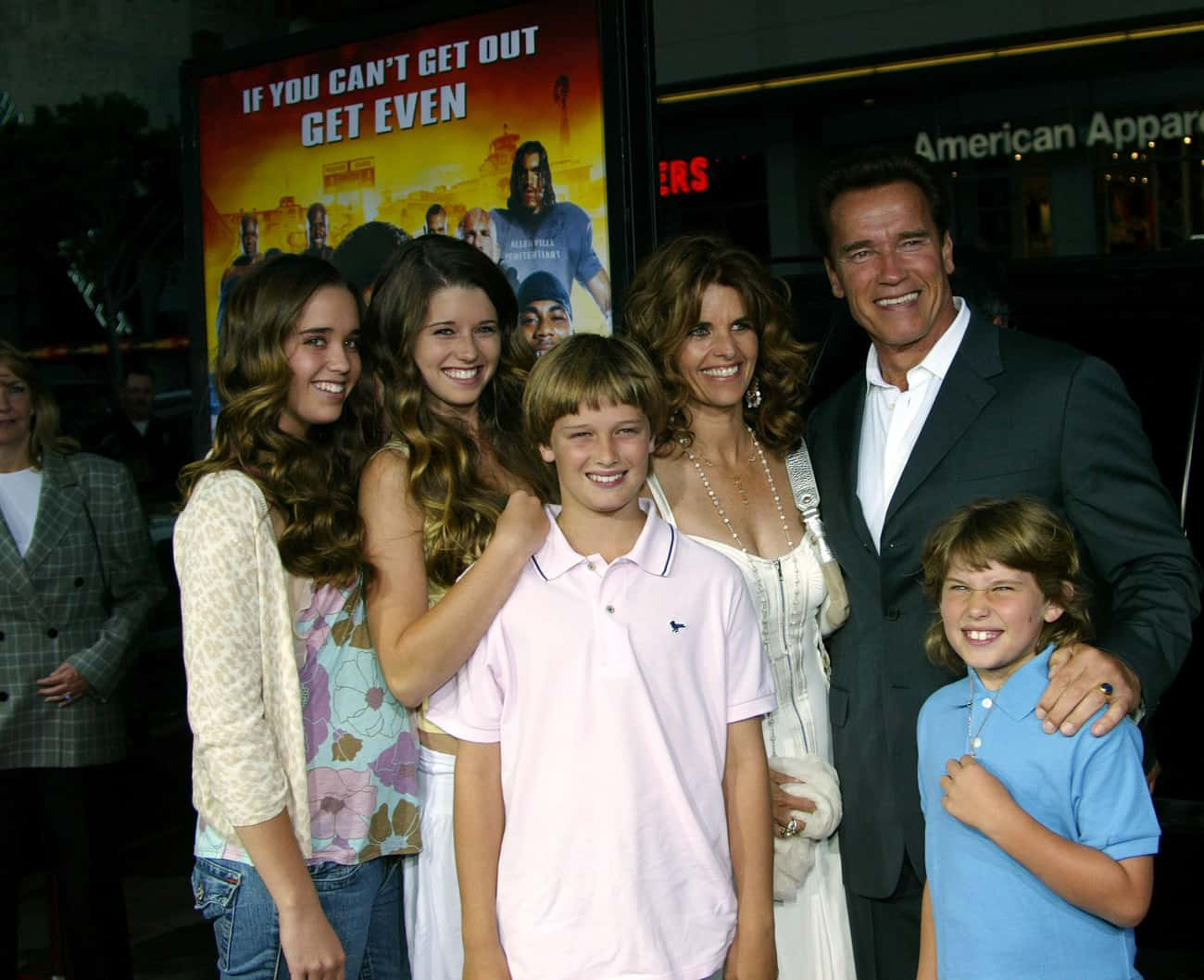 Arnold Schwarzenegger is listed (or ranked) 3 on the list 14 Family Values Politicians with Illegitimate Children