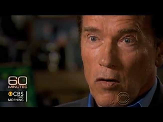 Arnold Schwarzenegger is listed (or ranked) 3 on the list Celebrities Who Dropped Big News on Talk Shows