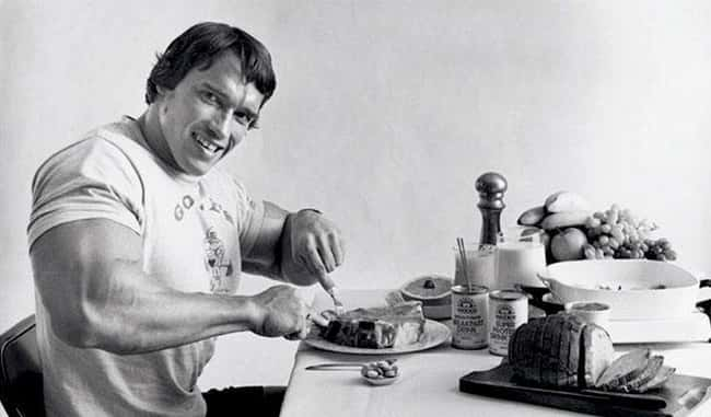 Arnold Schwarzenegger is listed (or ranked) 6 on the list Crazy Diets of Wrestlers and Other Athletes
