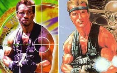 Arnold Schwarzenegger and Bill is listed (or ranked) 2 on the list 26 Celebrities Who Look Just Like Video Game Characters