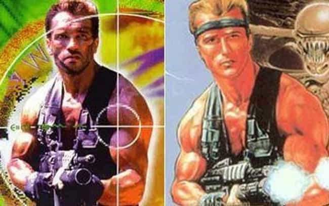 Arnold Schwarzenegger is listed (or ranked) 2 on the list 26 Celebrities Who Look Just Like Video Game Characters