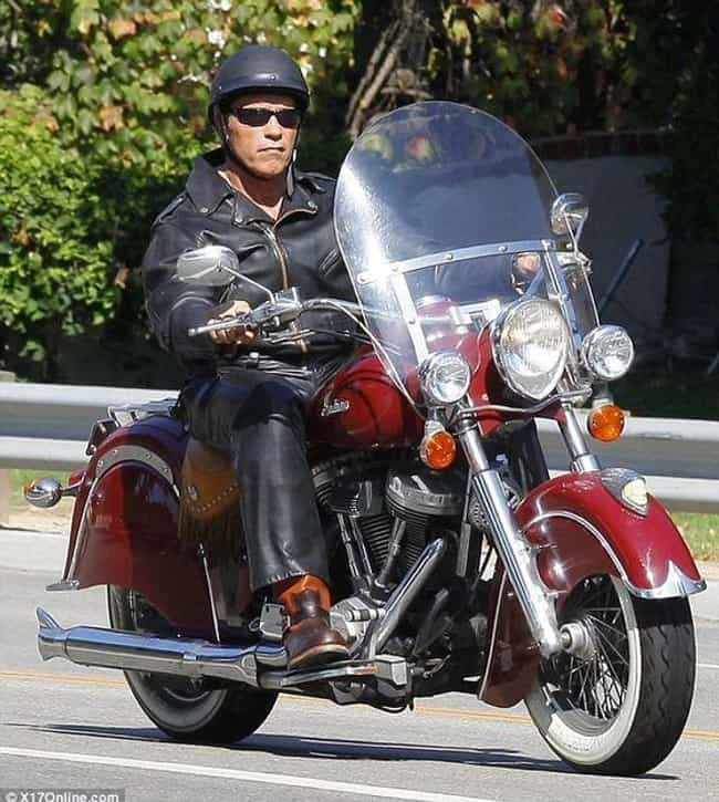 Arnold Schwarzenegger is listed (or ranked) 2 on the list Celebrities Who Survived Motorcycle Accidents