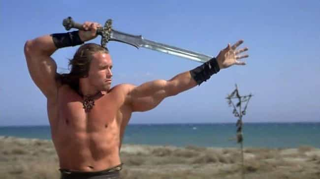 Arnold Schwarzenegger is listed (or ranked) 1 on the list Which Action Star Has The Butchest Character Names?
