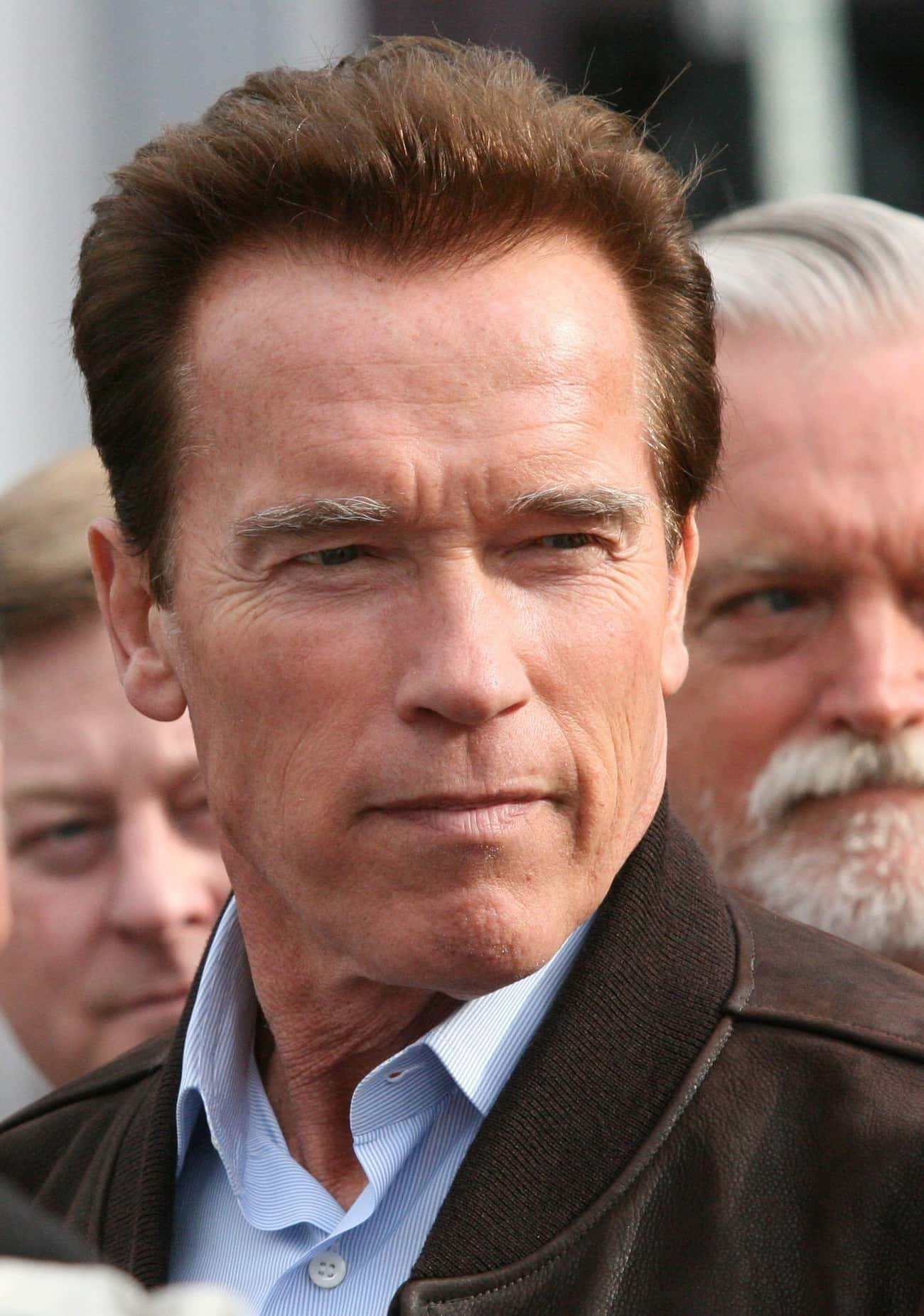 Arnold Schwarzenegger is listed (or ranked) 4 on the list 9 Dumbest Celebrity Quotes Of The Decade