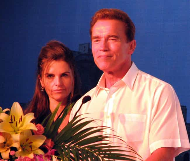 Arnold Schwarzenegger is listed (or ranked) 1 on the list 20 Famous Long-Term Couples That Split