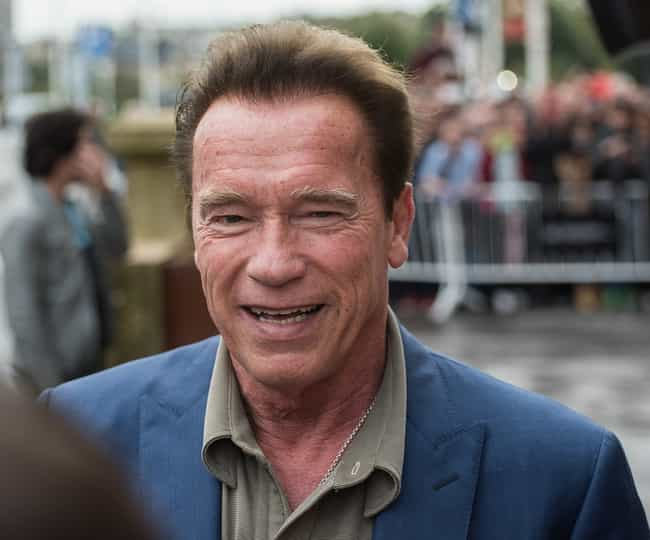 Arnold Schwarzenegger is listed (or ranked) 1 on the list 20 Famous People Who Have Love Children