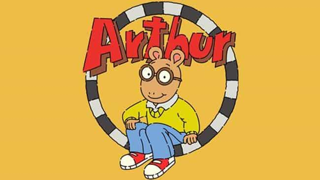 Arthur is listed (or ranked) 3 on the list Longest Running Animated Series