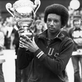 Arthur Ashe is listed (or ranked) 8 on the list List of Famous Tennis Players