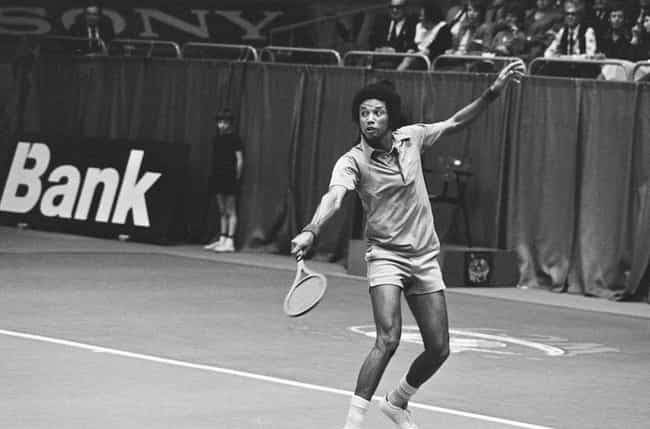 Arthur Ashe is listed (or ranked) 3 on the list Famous People With HIV