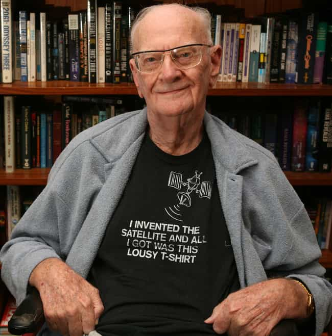 Arthur C. Clarke is listed (or ranked) 2 on the list Famous Male Science-fiction Writers