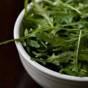 Arugula is listed (or ranked) 23 on the list All Low Carbohydrate Foods