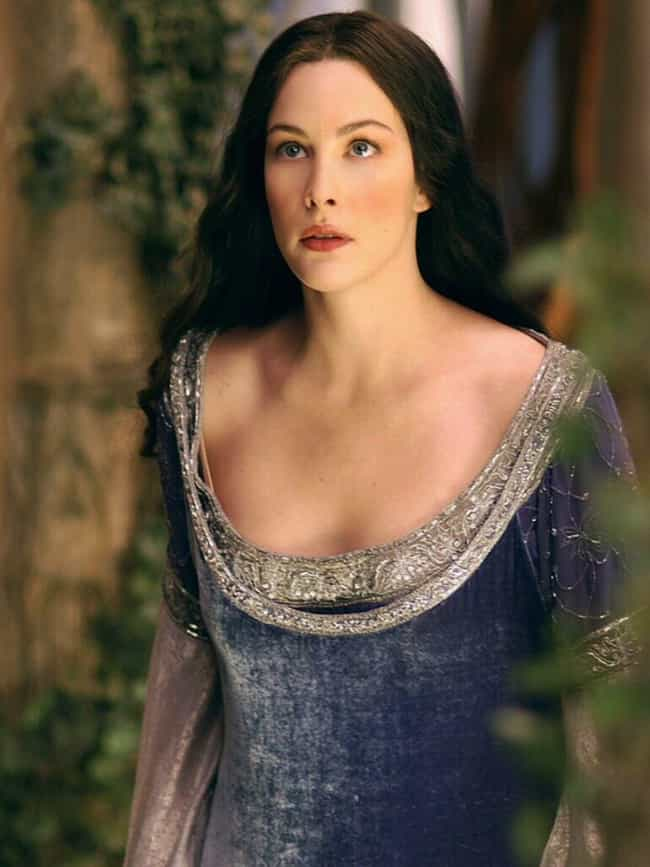 Arwen is listed (or ranked) 4 on the list The Hottest Legendary Creatures