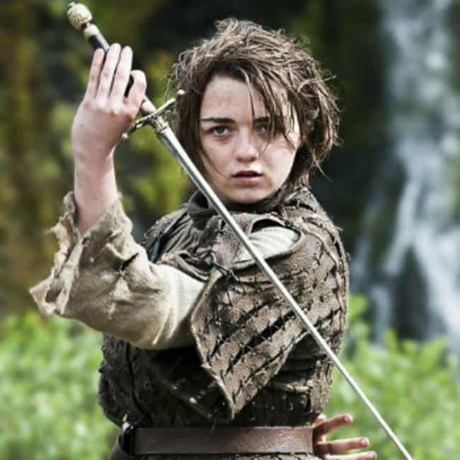 Arya Stark is listed (or ranked) 2 on the list The Best Members of House Stark