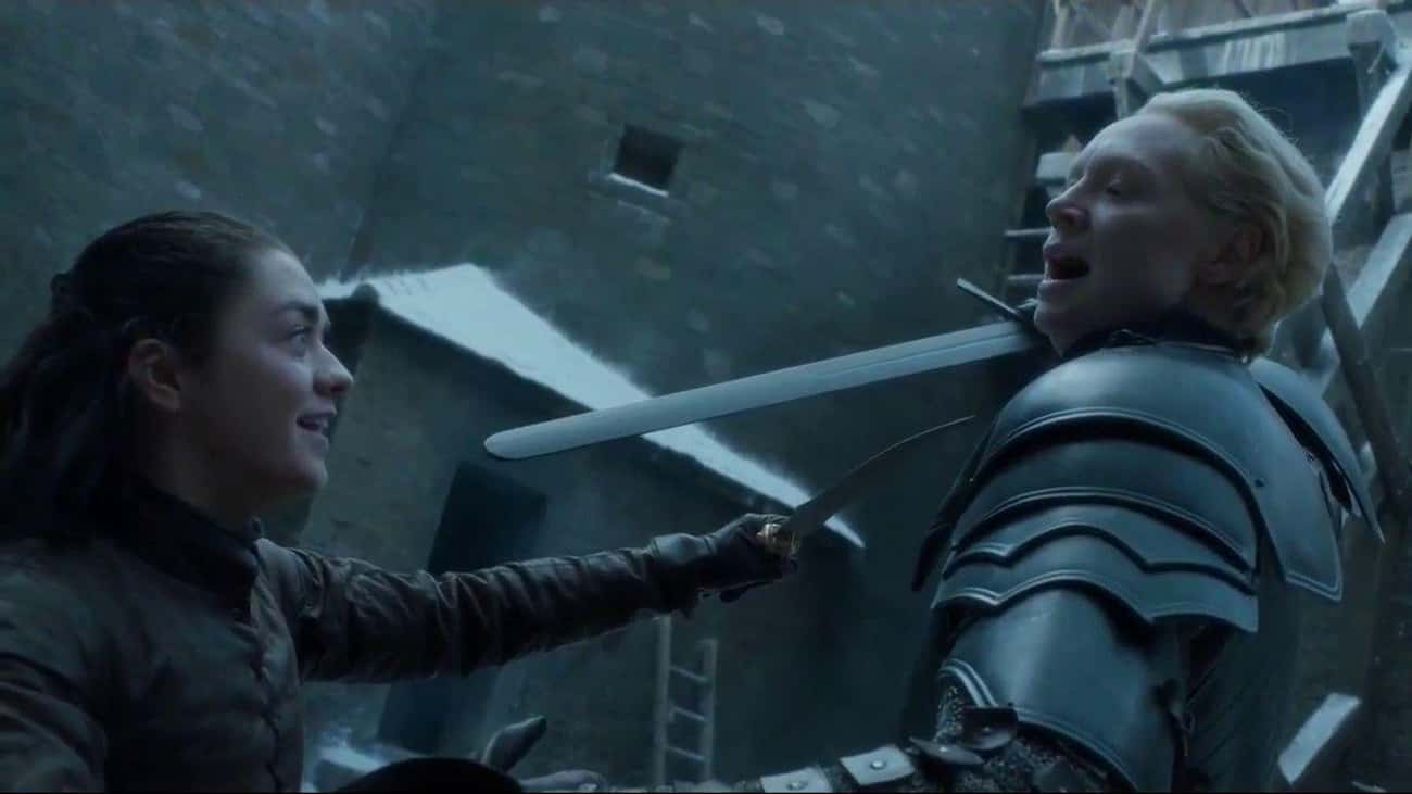 Brienne's Fight With The Hound Allowed Arya To Escape To Braavos, Become 'No One'—And Defeat The Night King