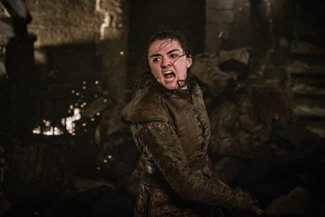 Arya Stark is listed (or ranked) 2 on the list The Most Badass Ladies from Game of Thrones