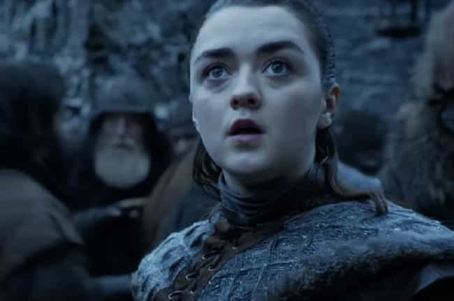Arya Stark is listed (or ranked) 2 on the list Fictional Children Who Will Be the Most Messed Up Adults