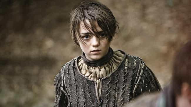 Arya Stark is listed (or ranked) 2 on the list The Most Badass Game of Thrones Characters