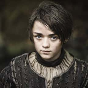 Arya Stark is listed (or ranked) 2 on the list The Greatest Rebels In TV History