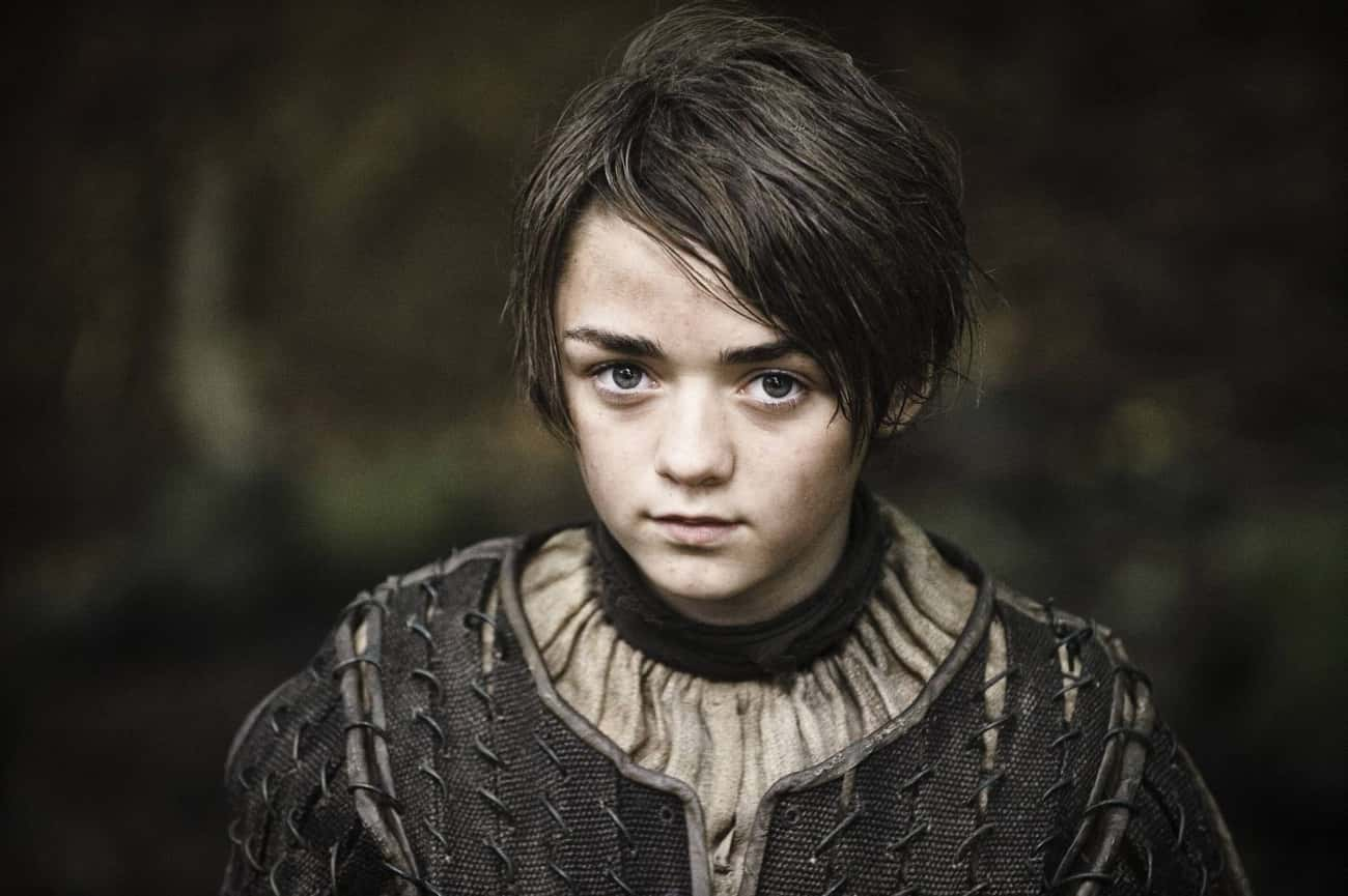 Arya Stark - Game of Thrones is listed (or ranked) 3 on the list 20 Side Characters That Stole the Spotlight
