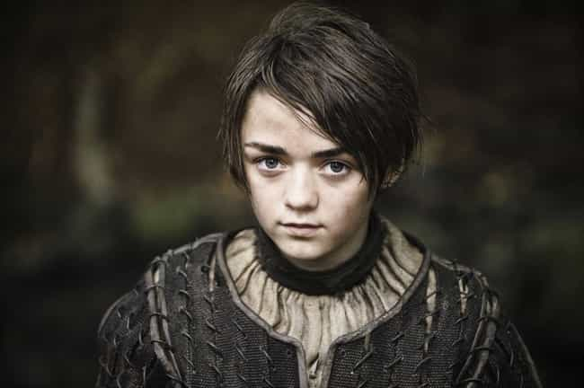 Arya Stark is listed (or ranked) 3 on the list 20 Side Characters That Stole the Spotlight