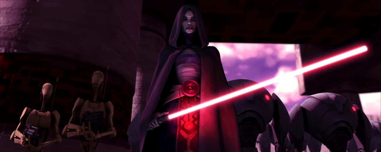Asajj Ventress is listed (or ranked) 4 on the list Who's The Best Bounty Hunter In The Star Wars Galaxy?