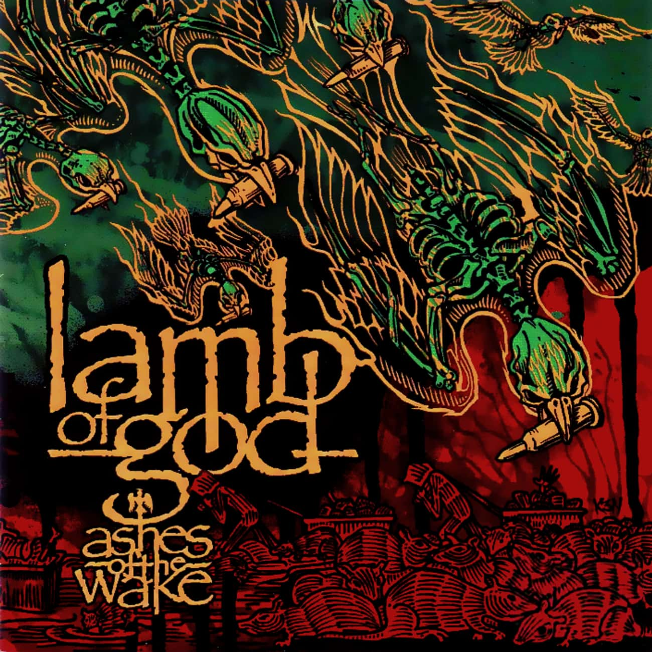 Ashes of the Wake is listed (or ranked) 1 on the list The Best Lamb Of God Albums of All Time