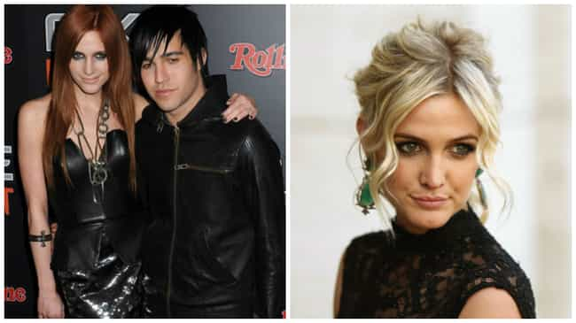Ashlee Simpson is listed (or ranked) 2 on the list The Hottest Celebrity Breakovers