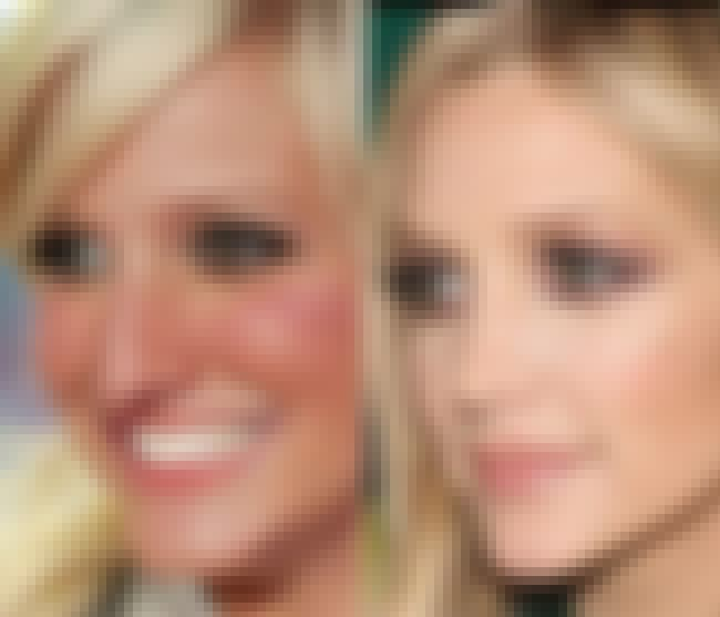 Ashlee Simpson is listed (or ranked) 4 on the list Celebrity Nose Jobs: Before and After