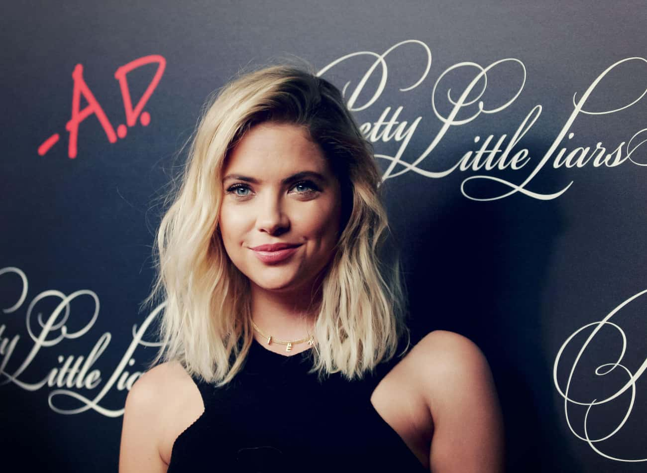 Ashley Benson is listed (or ranked) 3 on the list Beautiful Celebrity Women with Cute Dimples