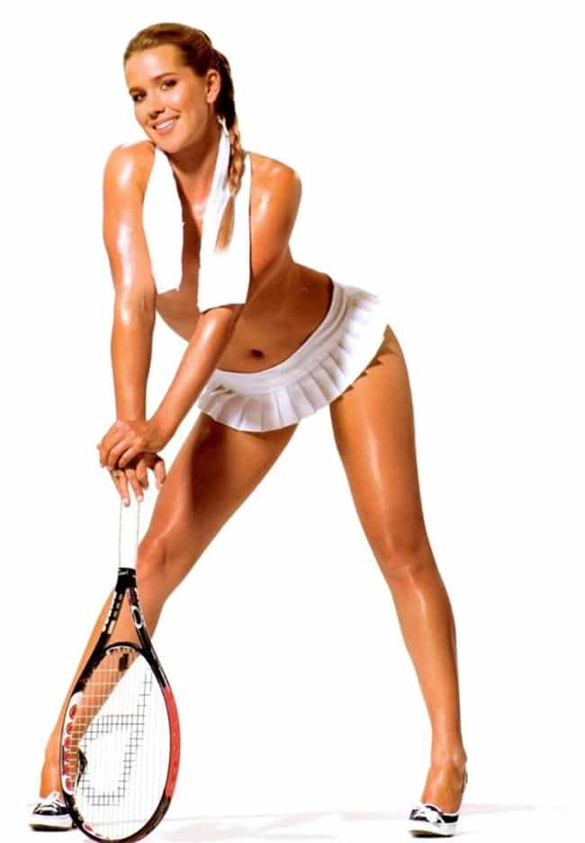 Ashley Harkleroad is listed (or ranked) 7 on the list Female Tennis Players That Put Love On Your Mind