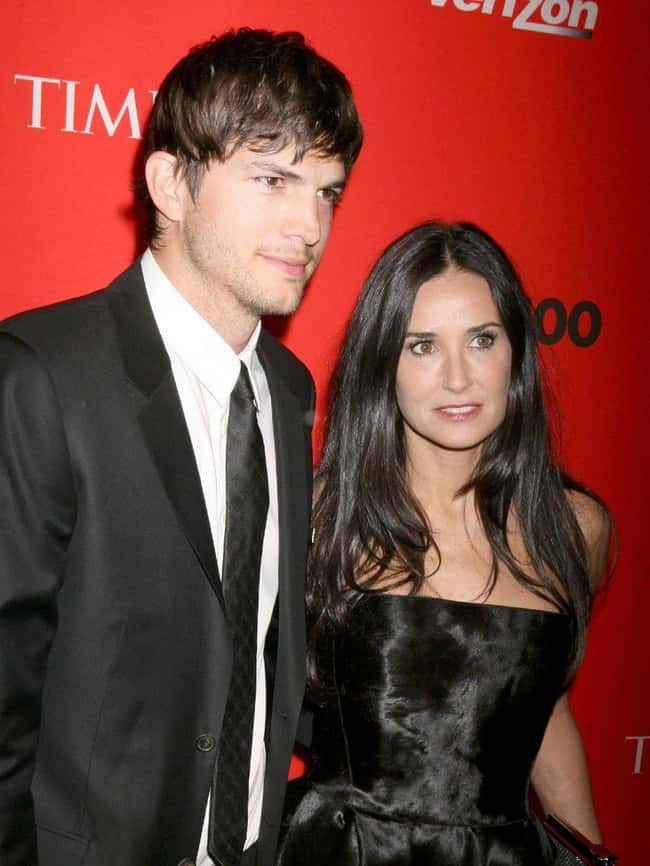 Ashton Kutcher is listed (or ranked) 36 on the list 48 Famous Couples with Huge Age Differences