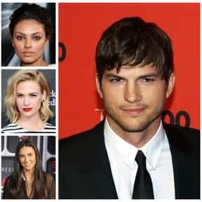 Ashton Kutcher is listed (or ranked) 19 on the list The Biggest Manwhores in the Entertainment Industry