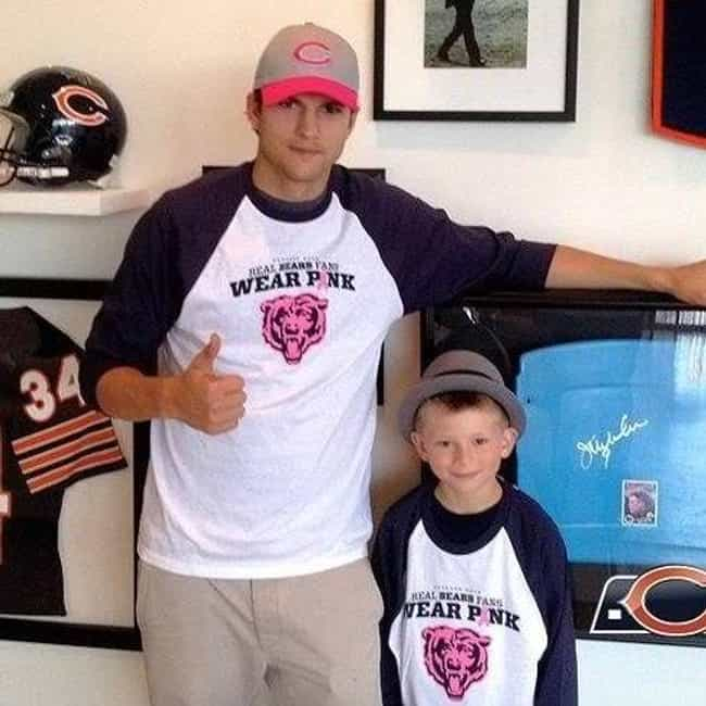 Ashton Kutcher is listed (or ranked) 4 on the list Celebrity Fans of the Chicago Bears