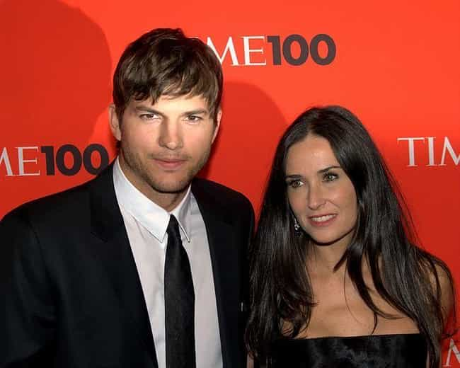 Ashton Kutcher is listed (or ranked) 1 on the list Famous Men Who Married Older Women