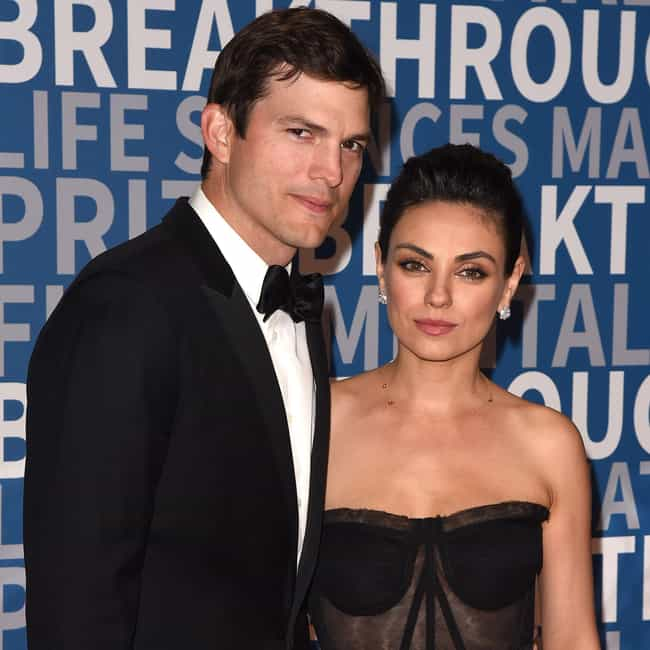 Ashton Kutcher is listed (or ranked) 1 on the list Mila Kunis Loves and Hookups