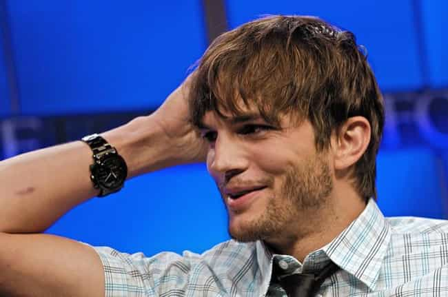 Ashton Kutcher is listed (or ranked) 4 on the list Celebrities Who Are (Allegedly) Swingers
