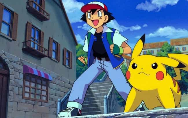 Ash Ketchum is listed (or ranked) 4 on the list 14 Anime Characters That Fight With Animal Manipulation