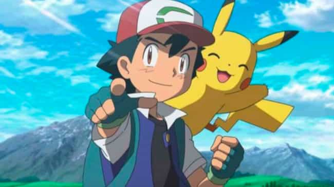 Ash Ketchum is listed (or ranked) 7 on the list 15 Anime Drifters Who Wander From Town to Town