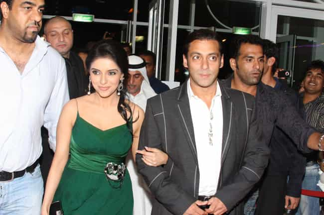 Asin is listed (or ranked) 2 on the list Salman Khan's Loves & Hookups