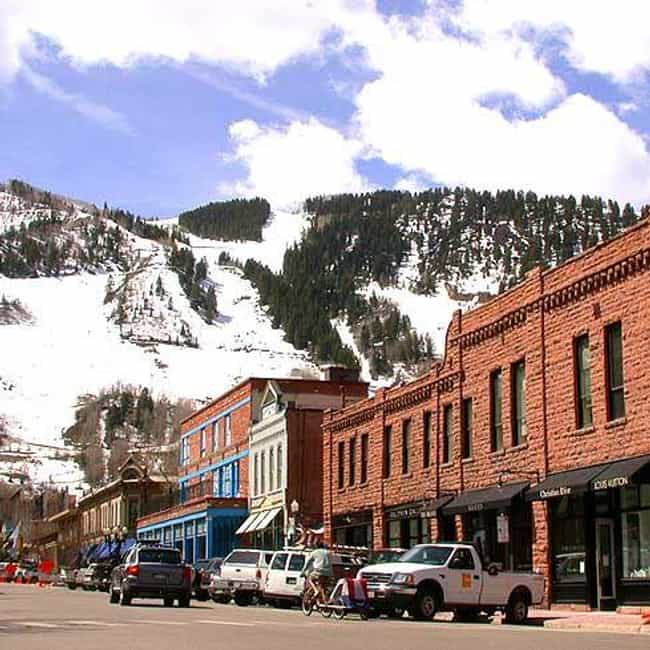 Aspen is listed (or ranked) 4 on the list The Best Places In Colorado To Live