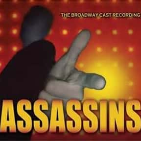 Assassins is listed (or ranked) 4 on the list Stephen Sondheim Plays List
