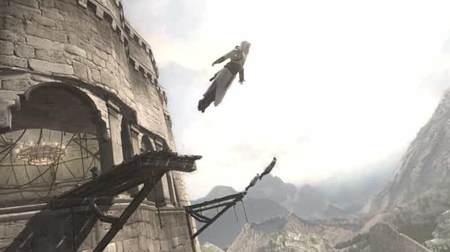 Assassin's Creed is listed (or ranked) 2 on the list 15 Of Your Favorite Video Games You Didn't Know Were Inspired By Books