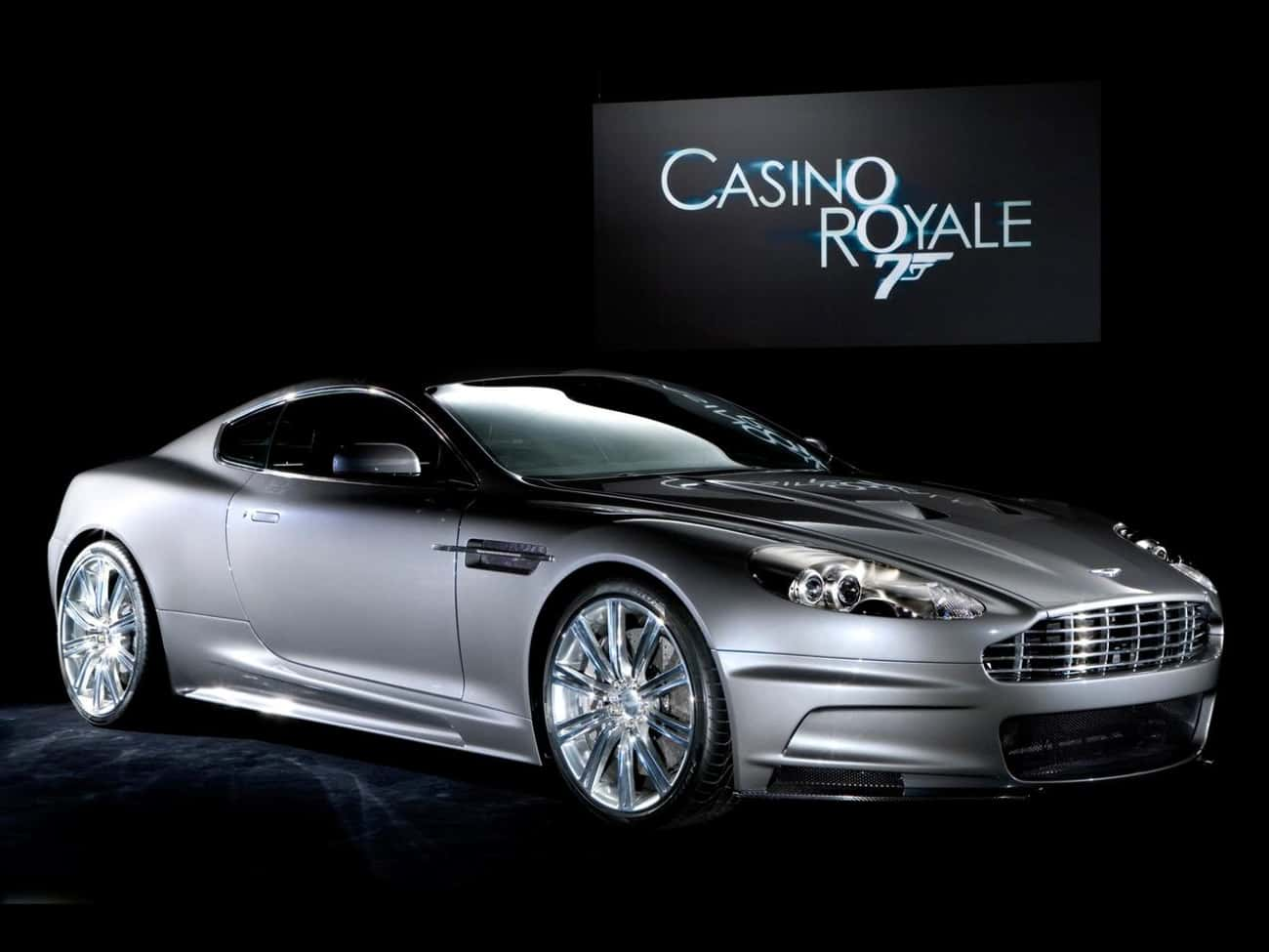 Aston Martin DBS is listed (or ranked) 4 on the list The Best James Bond Cars