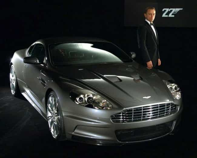 Aston Martin DBS V12 is listed (or ranked) 2 on the list The Best James Bond Cars