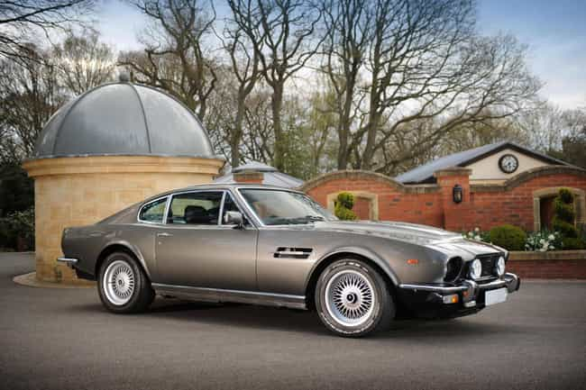 Aston Martin V8 is listed (or ranked) 3 on the list The Best James Bond Cars