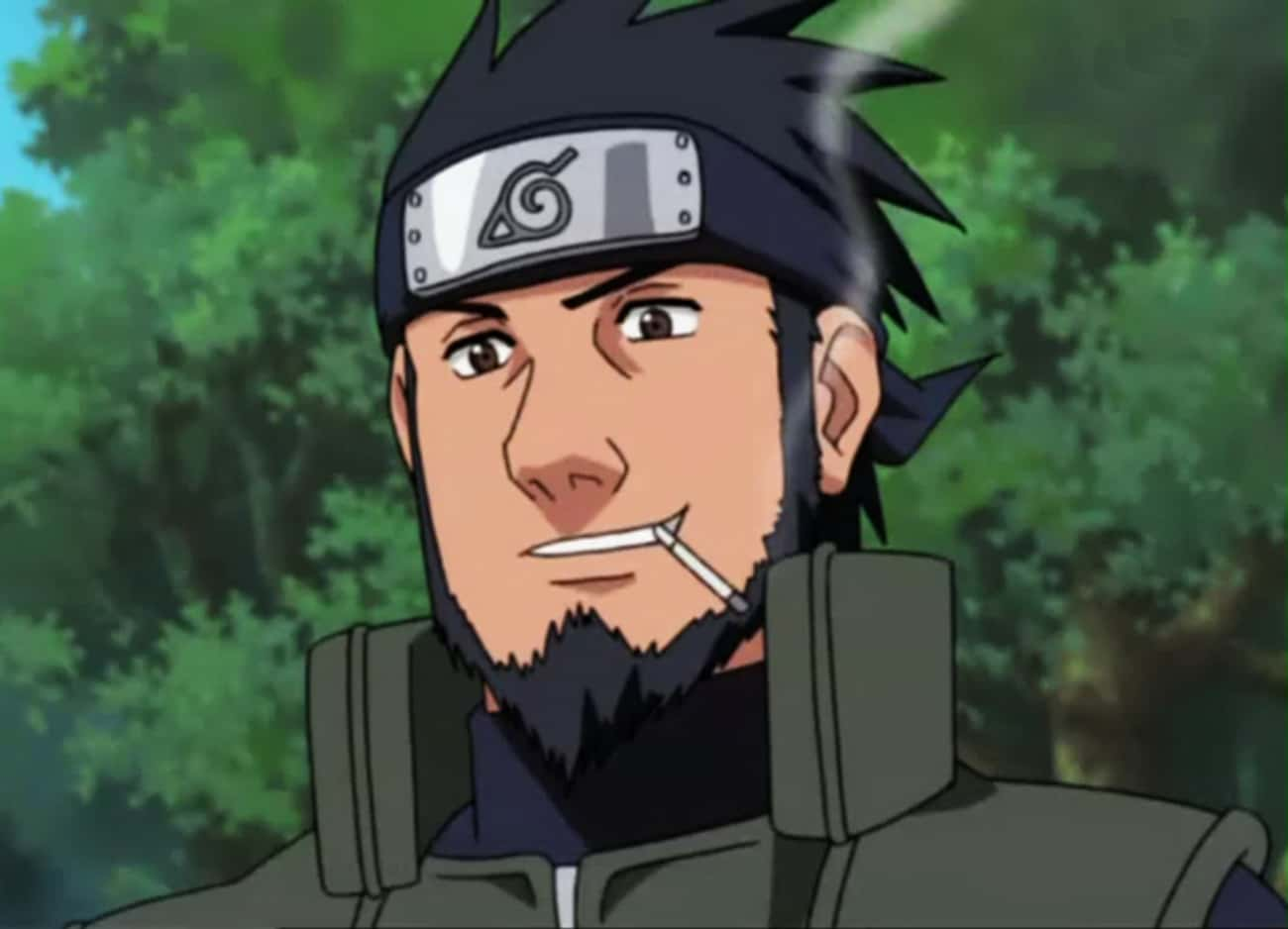 Asuma Sarutobi is listed (or ranked) 1 on the list The Best Anime Characters With Beards