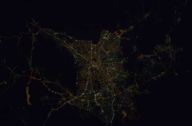 Athens is listed (or ranked) 6 on the list Cool Aerial Photos of Cities at Night