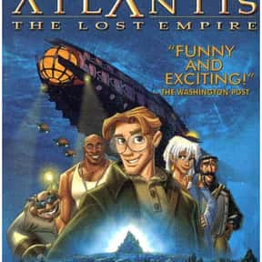 Atlantis: The Lost Empire is listed (or ranked) 9 on the list The Greatest Animated Sci Fi Movies