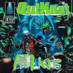 ATLiens is listed (or ranked) 7 on the list The Best Hip Hop Albums of All Time