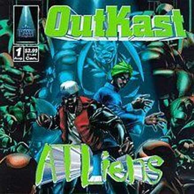 ATLiens is listed (or ranked) 2 on the list The Best OutKast Albums of All Time